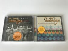 The Beach Boys Lot Of 2 CD's Live: 50th Anniv Tour And That's Why God Made Radio