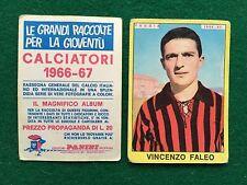 CALCIATORI 1966/67 66/1967 FOGGIA Vincenzo FALEO Figurina Sticker Panini (NEW)