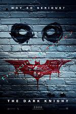 Dark Knight - Film Poster Fridge Magnet - Jumbo Size 90mm x 60mm