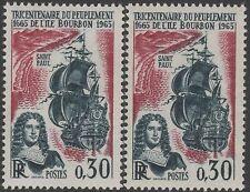 """FRANCE TIMBRE N° 1461 """" PEUPLEMENT ILE BOURBON VARIETE COULEUR """" NEUFxxTTB K128A"""
