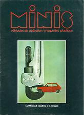 MINIS # 3 Jouets anciens Drouot Salon de l'auto 1975 SIKU R5 Martoys 1:24