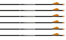 New Easton AfterMath Carbon Arrows 400 w/ Blazer Vanes 1/2 Dozen