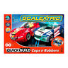 Brand New Scalextric Quick Build Cops 'n' Robbers 1:32 Scale Racing Set (C1323)