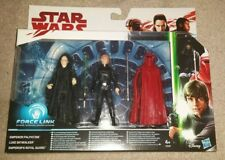 Star Wars ROTJ - Force Link Bundle - Luke, Emperor, Royal Guard - New -Hasbro