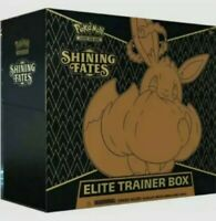 Pokemon TCG Shining Fates Elite Trainer Box ETB Factory Sealed in Hand