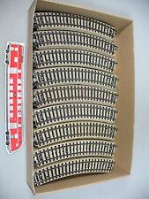 AI299-3# 59x Märklin H0 5100 Gleisstück/Schienen (M-Gleis, gebogen), sehr gut