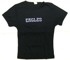 The Eagles s/t 2000 Concert Tour Ladies Fitted T-Shirt Bedazzled Chrome Beaded