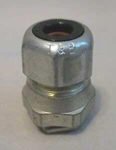 T&B Thomas & Betts 2520 Straight Liquidtight Strain Relief Cord Cable Connector