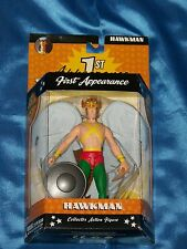 "HAWKMAN: 1st Appearance-Collector 6"" Poseable Action Figure, DC Direct, NEW"