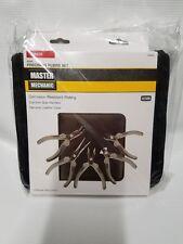 Master Mechanic Precision Pliers Set 5 Piece Mini Pliers Set Leather Case NEW