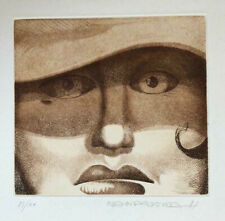 Josep Pla Narbona  Original etching hand signed and numbered