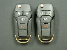 LOT OF 2 FORD KEYLESS ENTRY  REMOTE FOB OEM WITH TRUNK N5F-A08TAA N5FA08TAA