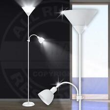 Mia a1770n techo ↥ 1800mm/blanco/ALUMINIO/ pie Lámpara de PIE FAROLA