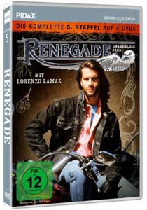Renegade - Gnadenlose Jagd - Staffel 5 * DVD Serie Lorenzo Lamas * Pidax Neu