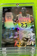Michael Jordan Card - 1991 SP - FIRST HOLO UPPER DECK INSERT  - Bulls JERSEY #23