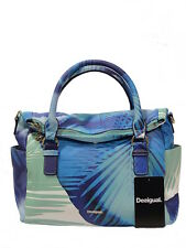 Desigual Handtasche WN 18saxpeo 5013 Bols Blue Palms Loverty