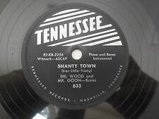 Del Wood Mr Goon Shanty Town Nobody's Sweetheart Now Tennessee 833 VG++