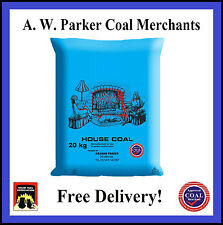 House Coal Trebles British Premium half tonne pre packed 25 x 20kg bags ton