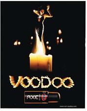 PUBLICITE ADVERTISING 2000    AXE    déodorant VOODOO                     310113
