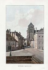 26 MONTELIMAR EGLISE SAINTE CROIX IMAGE COULEUR 1903