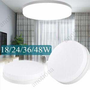 18-48W Rund LED Deckenleuchte Deckenlampe Badleuchte Wohnzimmer Küche Flur weiß
