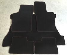 Fußmatten Kofferraumtepich Set für Opel Vectra B Caravan schwarz 5tlg 96-03 Neu