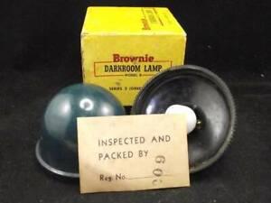 Eastman Kodak Brownie Darkroom Lamp Model B Series 3 with Box