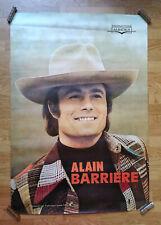 ALAIN BARRIÈRE - ORIGINAL POSTER – 80 x 120 cm - VERY RARE – CIRCA 1970
