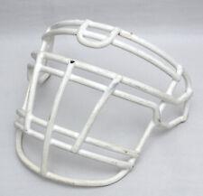 Pre-owned Schutt Super Pro RJOP-DW UB XL Adult Football Helmet Facemask (White)