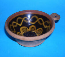 Alan Frewin Millhouse Studio Pottery - Attractive Single Handle Bowl (M.Mark).