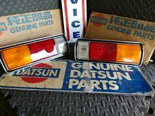 Datsun 69 510 Sedan JDM Tail Lights (2x, Left & Right) w/ Harnesses