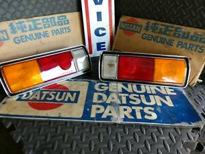 Datsun 69 510 Sedan JDM Tail Lights (2x, Left & Right)