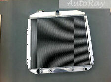 Full Aluminum Radiator for Ford Pickup Truck 1953-1956 1954 1955 2 Rows Auto AT
