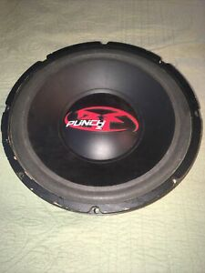 "12"" Rockford Fosgate Punch Z Old School Vintage Subwoofer Speaker - RFZ2412"