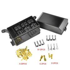 Car Auto Fuse Relay Holder Box Relay Socket 6 Relay 5 Road The Nacelle Insurance