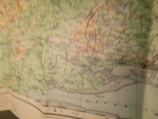 "ESSEX (CALLED COLCHESTER) 1/2""SCALE ORDNANCE MAP 1902-1911:TOPOGRAPHICALLY SHADE"
