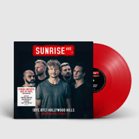 Sunrise Avenue - Bye Bye Hollywood Hills Ltd Rotes 10'' Vinyl 26 / 1000 Stück