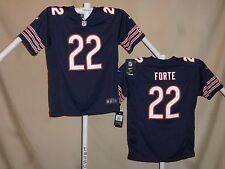 MATT FORTE  Chicago Bears  NIKE Game JERSEY  Youth Large  NWT  $70 retail  bl