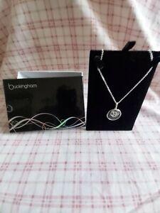 Ladies costume jewellery necklace stunning brand new Buckingham women gift
