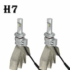 PAIR CREE H7 LED Headlight 72W Replacement Kit 12V 24V Fits Halogen Xenon