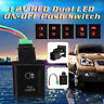 12V LED Taster Schalter Drucktaster Rot Ein/Aus-Schalter für VW Amarok 6