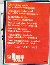BROCHURE MODEL RAILWAY Lima Trains (agf2150)