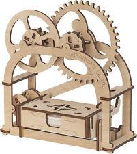 3D Mechanical Puzzle ETUI, DIY wooden construction kit woodcraft moving model