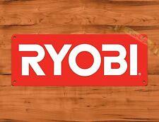 """Ryobi Red"" Tools Garage Advertisement Wall Decor Tin Sign"