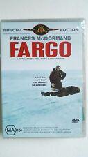 Fargo [DVD] NEW & SEALED, Region 4, FREE Next Day Post from NSW