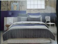 SHERIDAN SHELBY ANTHRACITE QUEEN QUILT COVER SET RRP$239.95
