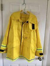 FIREFIGHTER WILDLAND/BRUSH JACKET WITH REFLECTIVE STRIPES M Barrier Wear NWOT