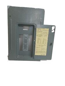 Federal Pacific Breaker Panel Door Model X112-24 Door only