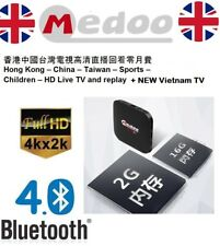 New 2018 - MedooTV 16GB Box HK TV TVB Viet China Taiwan - Tvpad HTV5 Box 中港台電視
