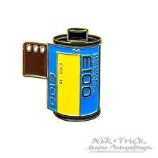 Kodak E100 New Ektachrome ~ Enamel Pin Badge for Film Lovers!